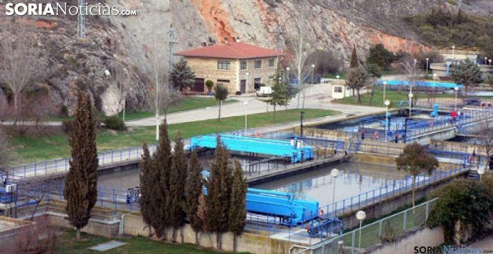 Foto 1 - La Junta aprueba la subvención de 22,2 M€ para la nueva depuradora de Soria