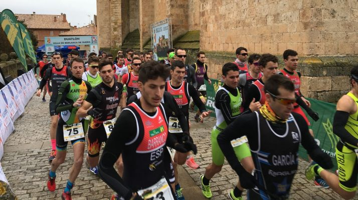 El duatlón de Berlanga, próxima cita nacional en Soria