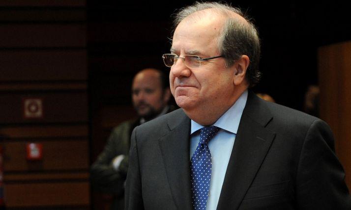 Juan Vicente Herrera, presidente de la Junta de Castilla y León.