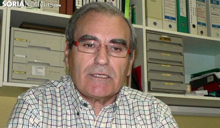 Ignacio Gutiérrez, presidente de la asociación vecinal. /SN