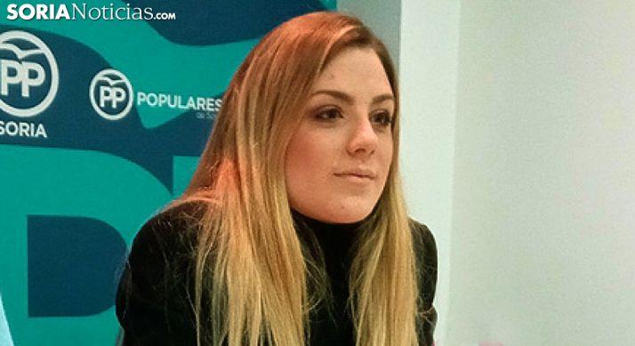 Raquel López, presidenta de NNGG de Soria. /SN