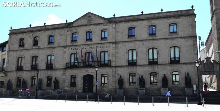 Imagen del edificio, sede de la Diputación provincial. /SN