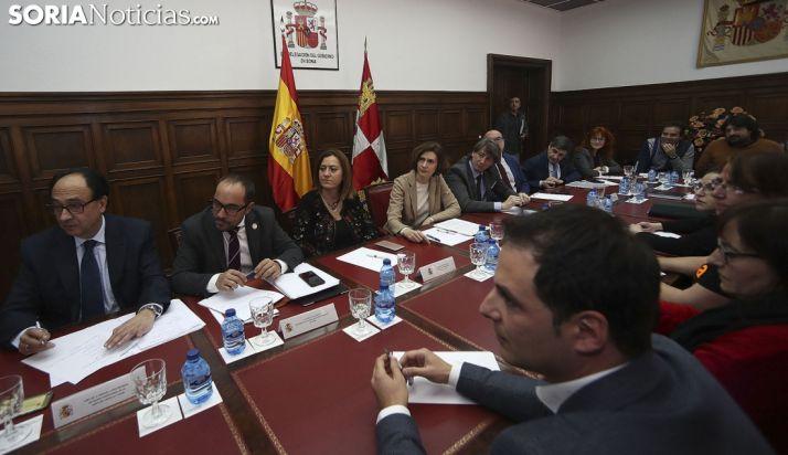 Presentación del plan este martes en la sede de la Subdelegación del Gobierno. /SN
