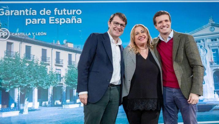 De Gregorio, Casado y Mañueco. PP