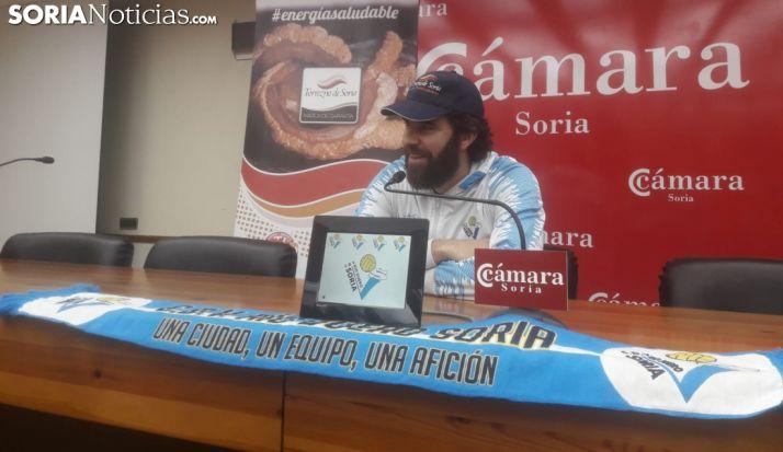 Manolo Sevillano comparece en rueda de prensa. SN