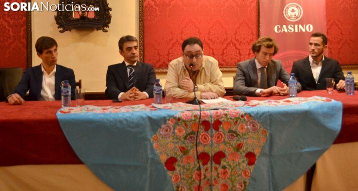 De izquierda a derecha, Barbero, Martín, Alonso, Collado y Villanueva. /SN