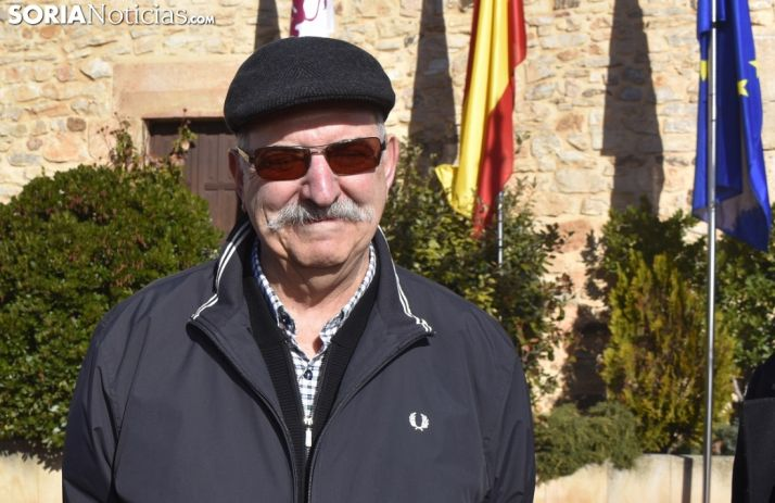 Pedro Subijana minutos antes de la inauguración de la Feria de la Trufa de Abejar. /EM
