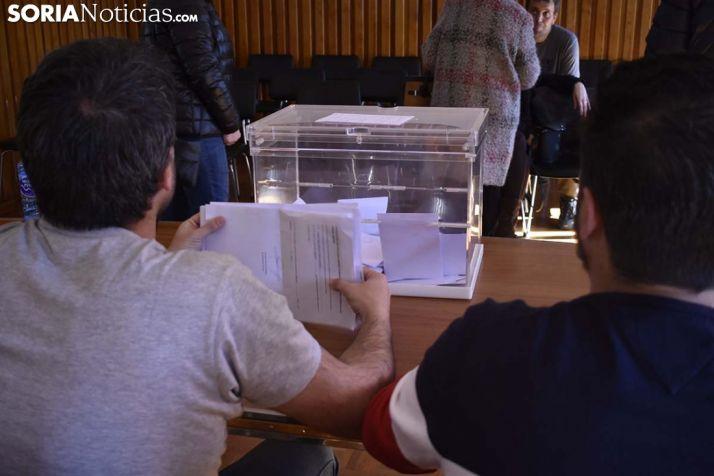 Votaciones en Abejar por el traslado de fecha de La Barrosa. /EM