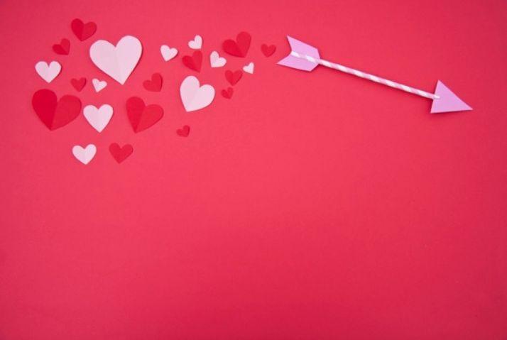 Flecha de Cupido. Imagen de archivo