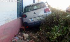 El vehículo tras el accidente. /SN