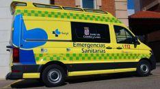 Una ambulancia del Sacyl.