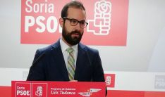 Hernández, este jueves en rueda informativa.