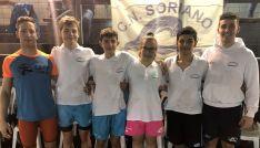 Los nadadores sorianos este fin de semana en Valladolid. /CNS