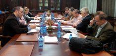 Imagen de la reunión con responsables de Cs en la provincia. /CC