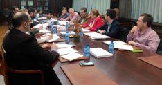 Imagen de la reunión con responsables del PP en la provincia. /CC