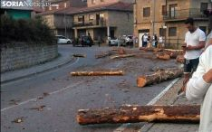 Imagen del último accidente por pérdida de carga en Covaleda.