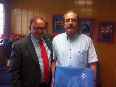 Francisco Rubio y José Andrés Diago. CD Numancia