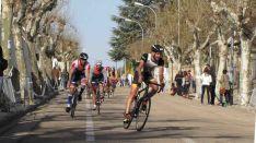 Ciclismo en el duatlón de Soria.