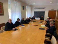 Foto 4 - El obispo visita la Comandancia de Soria