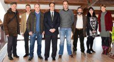 Miembros del Patronato del Acebal de Garagüeta. /Jta.