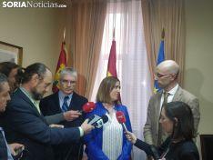 Reunión de Renfe y Adif con Soria Ya y Asoaf