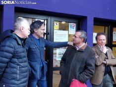 Igea, Saturnino y Santos hoy en Soria.