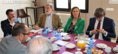 """Foto 4 - Tudanca promete """"más medidas y más financiación"""" y """"menos fotos"""" contra la despoblación"""