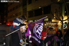 Manifestación del 8-M en la capital de Soria 2019. SN