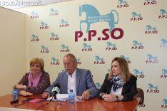 Foto 2 - María Jesús Ruiz deja el PP y se pasa a la PPSO, donde será la número uno para el Senado