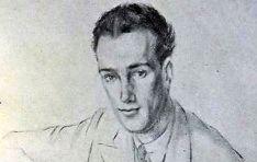 Julio Garcés, en un retrato elaborado por Ramón Rogent en 1943.