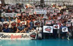 Los equipos de Soria y Teruel de voleibol dan el primer paso del 31M