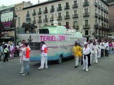 Foto 4 - Así fue la manifestación de la Soria Ya y Teruel Existe en Madrid en 2003