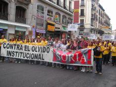Así fue la manifestación de la Soria Ya y Teruel Existe en Madrid en 2003