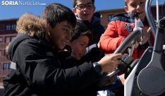 Sanas, solidarias y confiadas 'sonrisas' en el Santa Bárbara
