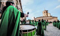 Una imagen de la Semana Santa en Almazán. /SN