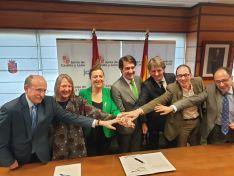 Se firma el convenio para la construcción de la nueva depuradora en Soria