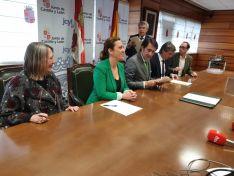 Foto 2 - Se firma el convenio para la construcción de la nueva depuradora en Soria