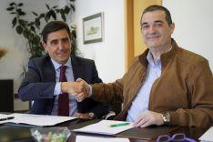 Carlos Martínez Izquierdo y Alberto Santamaría.