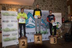 Sergio Herrero y Cristina Tejedor, ganadores del 'SnowCross Desafío Urbion'