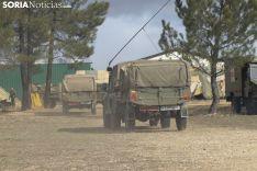 Militares en Garray. Jasmín Malvesado.