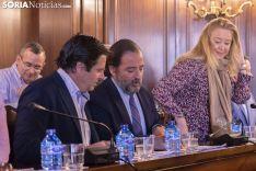 Pleno del Ayuntamiento de Soria. /Jasmín Malvesado.