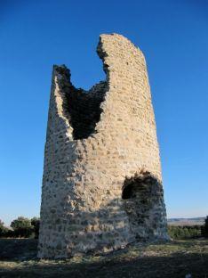 Foto 3 - La atalaya La Torrejalba de Almarail consolida su estructura
