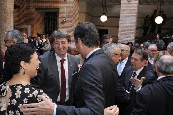 Entrega de la Llave de Oro, a título póstumo, a Tomás Rodríguez Bolaños. FEMP
