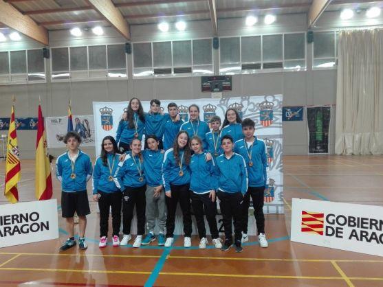Desplazamiento del Club Bádminton Soria-CS 24.