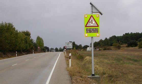 La señal instalada por la DGT. /SdG