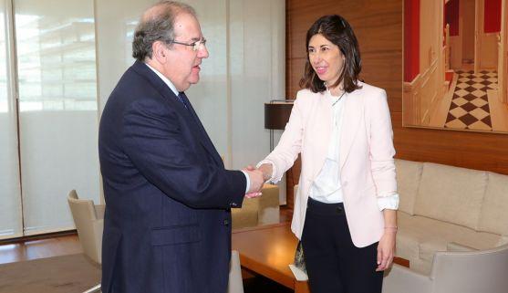 Juan V. Herrera y Rocío Arroyo. /Jta.
