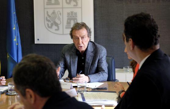 Reunión de la Comisión General de Coordinación Territorial. Junta de Castilla y León