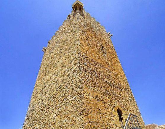 Una imagen del torreón.
