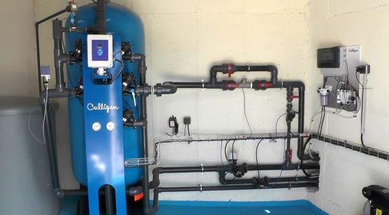 Imagen del sistema que ya está en funcionamiento.