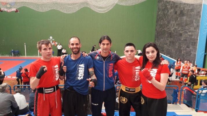 Foto 1 - El Club Kickboxing Soria tendrá a 6 deportistas en el Campeonato de España